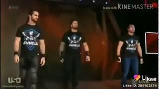 Brunstoman vs the shield Roman Reigns **Sethrollin And ---- Dean ambrose