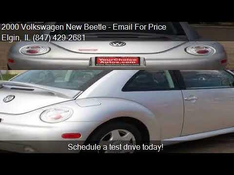 2000 Volkswagen New Beetle GLS 2dr Coupe for sale in Elgin,