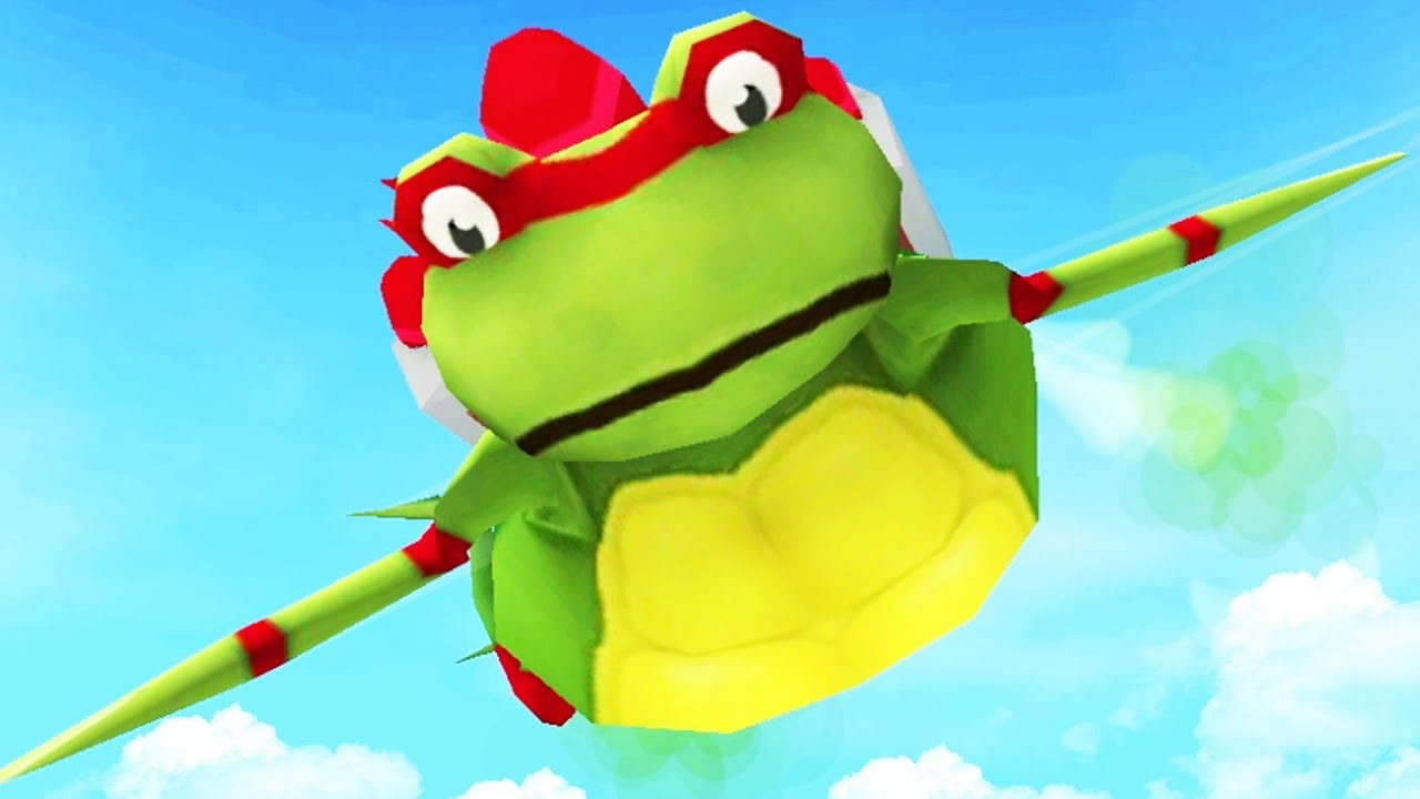 raphael-frog-tries-to-fly-out-of-the-map-amazing-frog-part-118-pungence