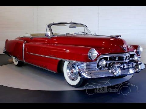 Cadillac Convertible 1950 In Top Condition Original Belgium Delivered Video Www Erclics