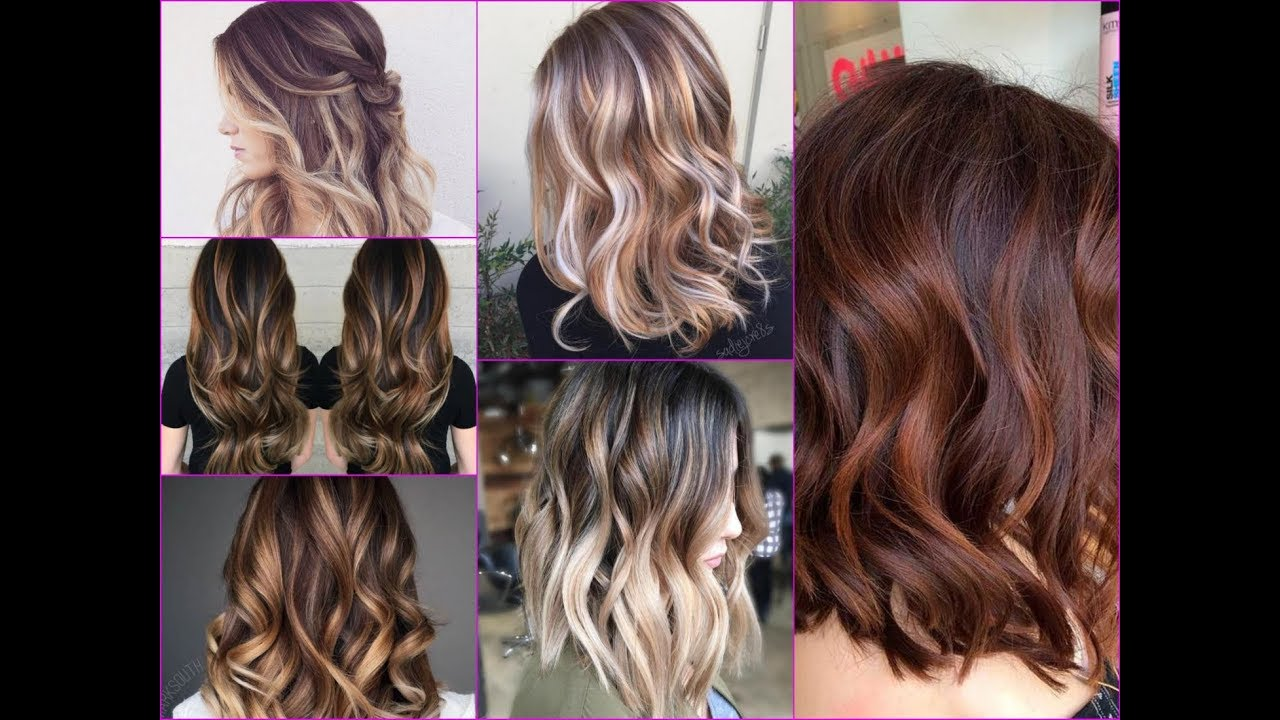 2018 Hottest Balayage Hair Color Ideas With Caramel Blonde And