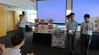 中華基金中學 - 中學組冠軍 -「綠色科技創意大賽2019」