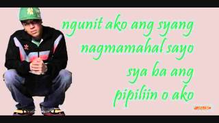 Kris Lawrence - Sabihin Mo Naman (LYRICS)
