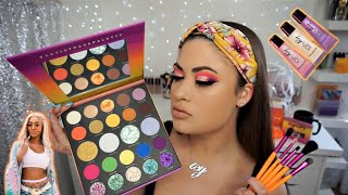 *NEW* MORPHE x SAWEETIE Collection 💜24A Artist Pass Palette Tutorial 🌅