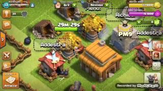 Clash of clans ho migliorato il villaggio finalmente!!