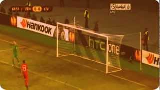 Full HD zenit vs liverpool 2-0 goals 14/02/2013