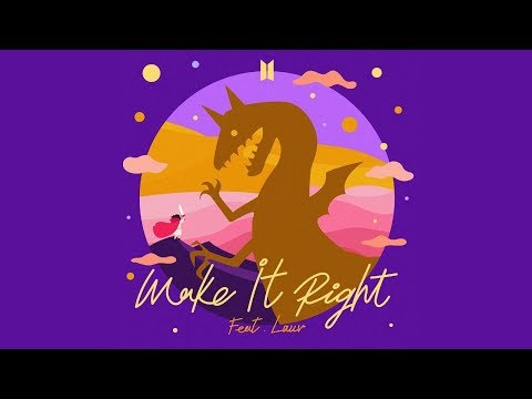 BTS  - Make It Right (Lauv Remix w/MV) [COUNTDOWN] OUT NOW!!!