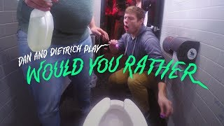 Drink Toilet Water Or Clean a Public Bathroom | Would You Rather? | Cut