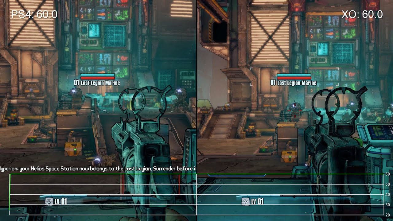 Performance Analysis: Borderlands: The Handsome Collection revisited