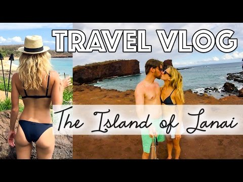 Hawaii Travel Vlog  | The Island of Lanai | Katie