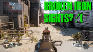 what s wrong with my iron sights black ops 3 kn 44 gameplay
