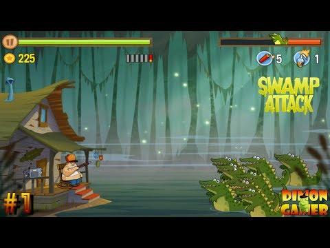 Прохождение игры Swamp Attack (Android) #1 (Возвращение на Болото!)