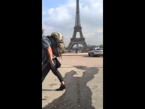 paris trocadero skateur