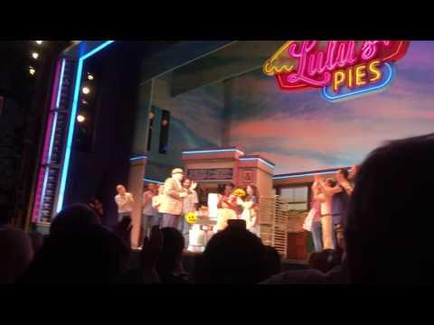 2017 06 11 Waitress Curtain Call Sara's last performance!