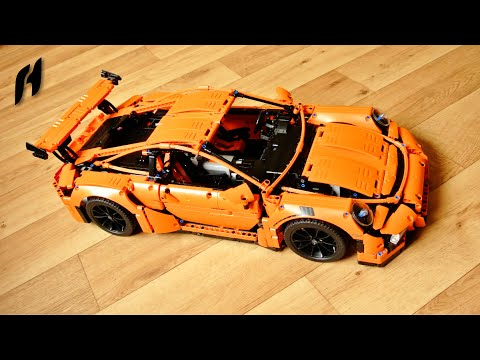 motorized lego technic 42056 porsche 911 gt3 rs sbrick. Black Bedroom Furniture Sets. Home Design Ideas