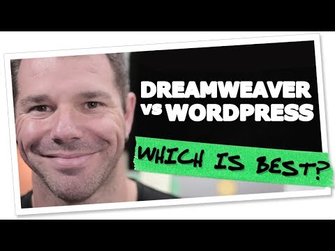 Dreamweaver vs WordPress, Which One's Best? | Geoff Blake @tentononline