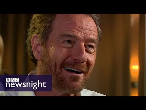 Breaking Bad's BRYAN CRANSTON impersonates Trump  BBC night