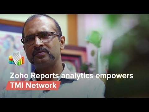 Zoho Analytics Empowers TMI Network - India's Largest Recruitment Firm.