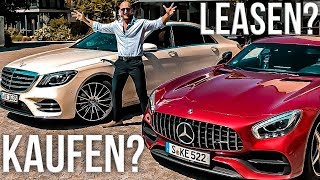 Auto kaufen oder leasen? Was ist besser?