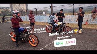 DENDAM PRIBADI 2 JOKI DALAM 1 BENGKEL ADU MOTOR!!!