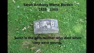 Lizzie Borden (borden's Graves) & More At Oak Grove Cemetery