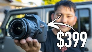 Why is this the Best Selling DSLR? | Canon T7