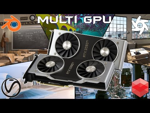 BoostClock | GPU rendering and ray tracing with dual GPUs - RTX 2080