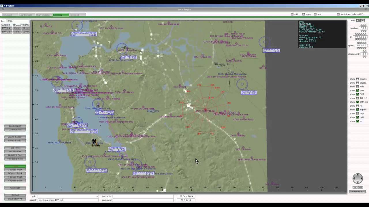 X Plane 10 Map Comparing the Maps in X Plane 10 and Microsoft FSX   YouTube