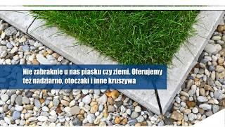 Kruszywa budowlane piasek pospółka Żwirownia Nowe Gołębiewko Sp. z o.o. Sp. k.