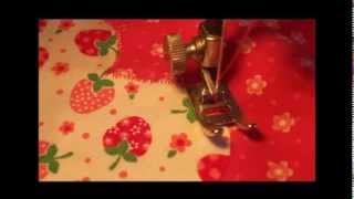 Аппликация из ткани. Как выполнять аппликацию из ткани на швейной машинке