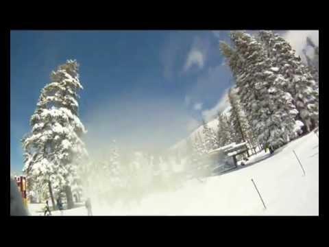 Snowboarding Heavenly Ski Resort March 2012