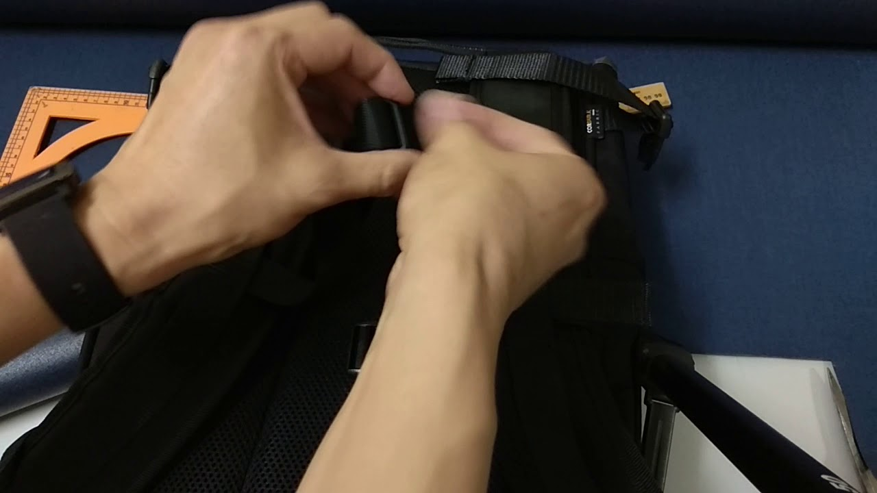 How to... Install a sternum strap to a Greenroom136 backpack.