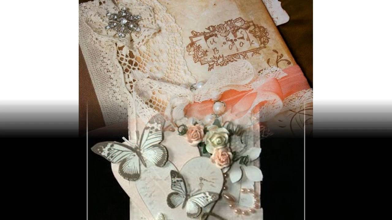 Scrapbooking ideas for wedding invitations - YouTube