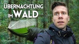Ich übernachte tief im Schwarzwald