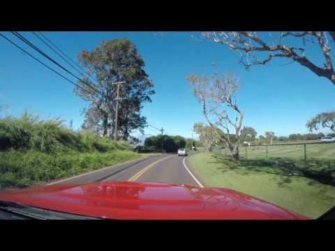 Driving around Maui