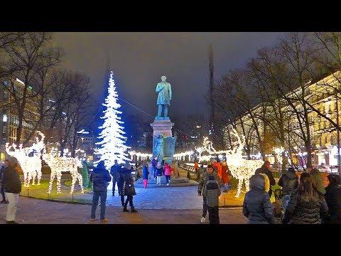 Helsinki 2018 New Year Celebration: HD Video Tour - Finland
