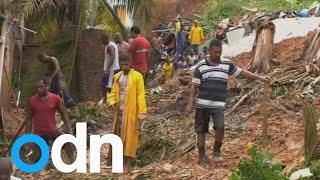 At least 12 people killed in Salvador mudslides after torrential rains