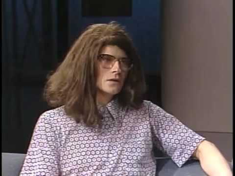 Crispin Glover on Tonight Show, Late Night, 1987