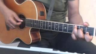 Tutoriel guitare makossa en DO-FA-SOL (C-F-G) RALENTI!!!!!!!