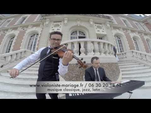 Canon de Pachelbel au violon et piano pour cérémonie de mariage