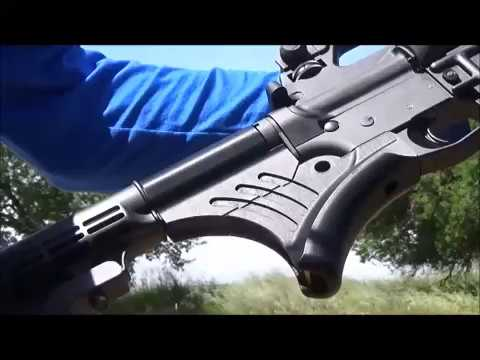 LedgeGrip Information and Shooting Demo for Featureless AR-15 grip in California