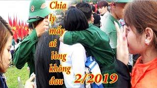 Cảm động rơi nước mắt cảnh chia tay người yêu  đi nghĩa vụ quân sự 2019