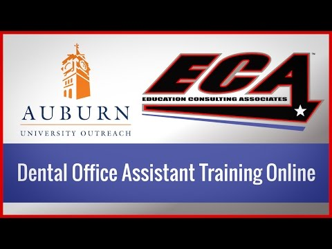 Dental Office Assistant Training Online