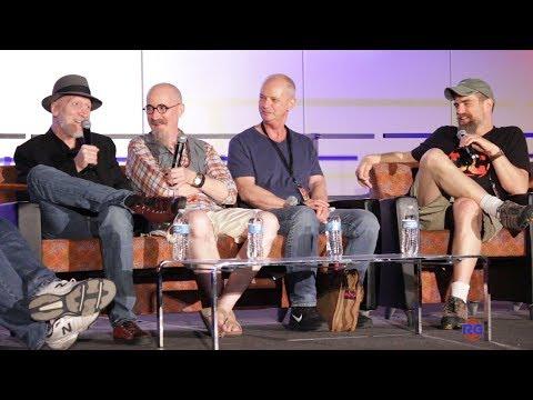 Dark Knight Panel - Frank Miller, Andy Kubert, Klaus Jansen, and Brian Azzarello