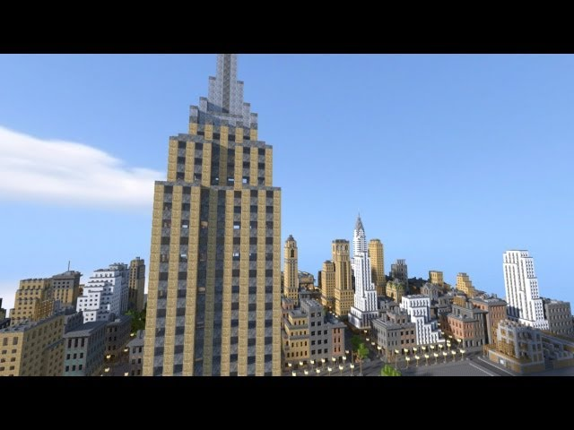 Minecraft New York Map Download Youtube Gaming