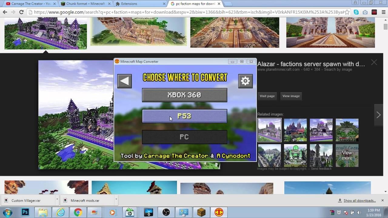 minecraft image converter