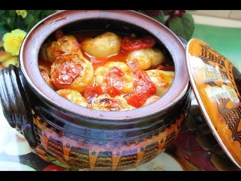 Bakina kuhinja - sjajne punjene paprike tikvicama i prazilukom