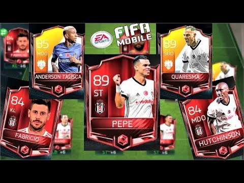 89 GEN PEPE !! 4.5 MİLYON COİNS BEŞİKTAŞ FULL KADROSU !! Fifa Mobile