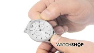 emporio armani men s chronograph watch ar1796