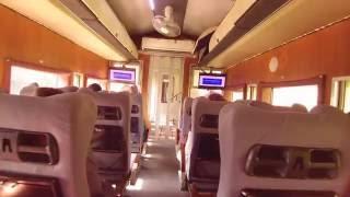 Sri Lanka by train, first class 1 from Kandy to Nuwara Eliya